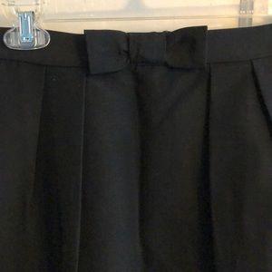 Talbots Skirts - Talbots Black Bow Skirt